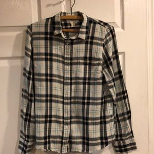 J Crew women's plaid flannel